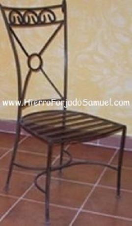 Hierro forjado samuel galer a sillas - Sillas en hierro forjado ...